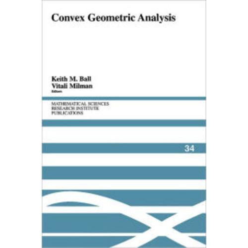 Convex Geometric Analysis / Edition 1