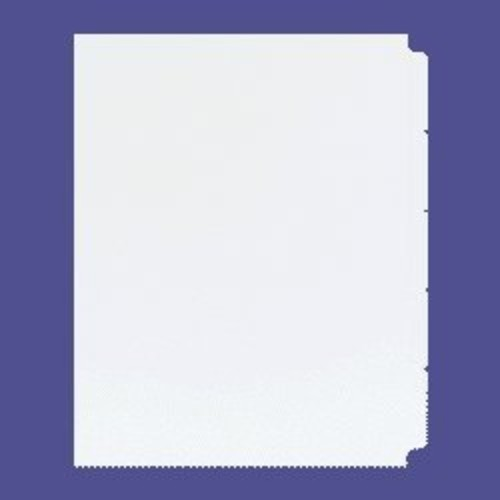Xerox Single Reverse Collated Index Tabs 1-5, 9