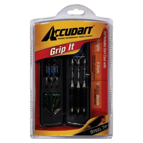 Accudart Grip-It Soft Tip Dart Set