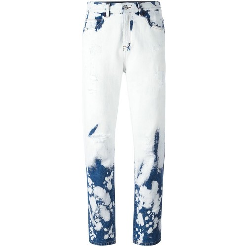 GUCCI Hand Bleached Relaxed-Fit Jeans