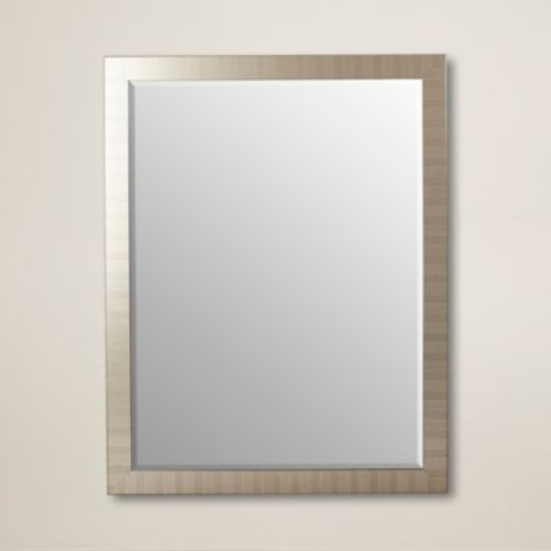 itude Run Framed Wall Mirror; 36'' H x 18'' W
