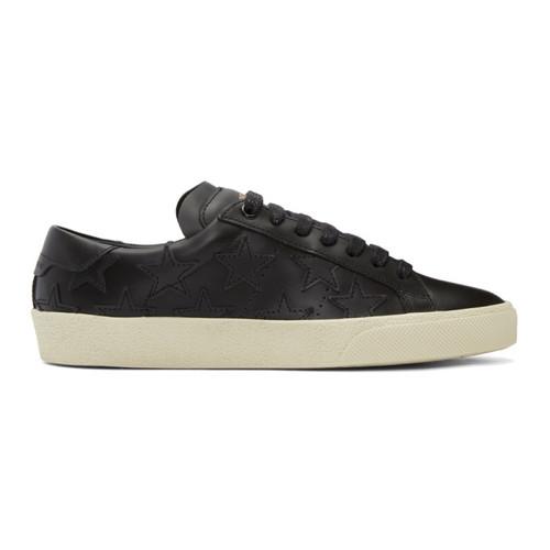SAINT LAURENT Black Court Classic Sl/06 California Sneakers