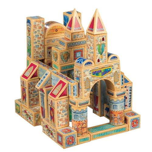TS Shure Archiquest Kings and Castles, Medieval Europe Building Set 69 Pieces