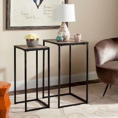 Safavieh Callia Stacking End Table in Light Grey
