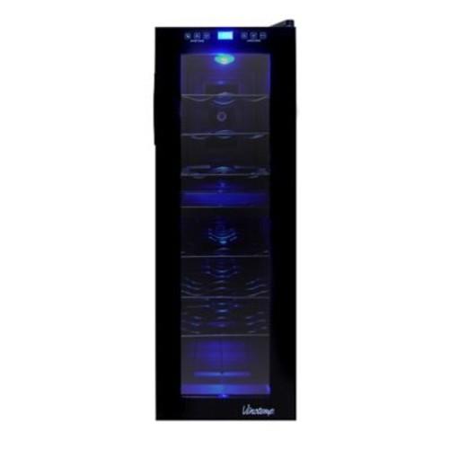 Vinotemp Thermoelectric 21 Bottle Dual Zone Freestanding Wine Refrigerator
