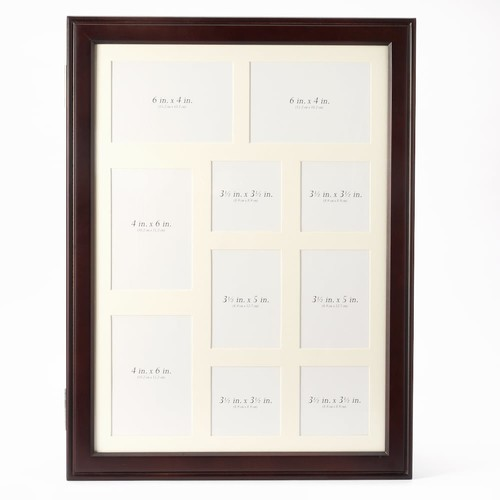 Wood Wall Collage Picture Frame Jewelry Armoire