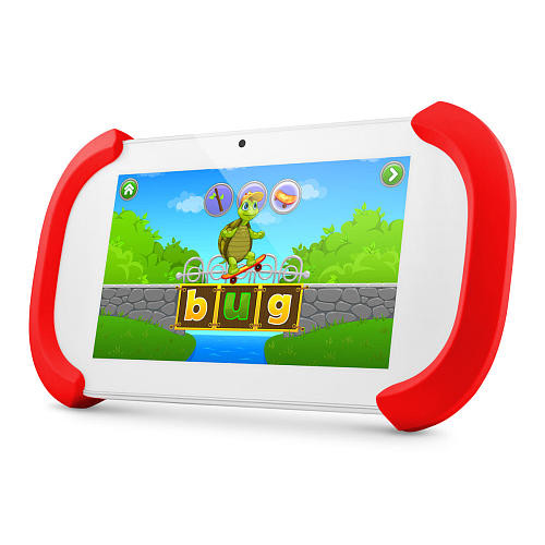 Ematic Funtab Play 7 inch 16GB Kids Tablet - Red and White