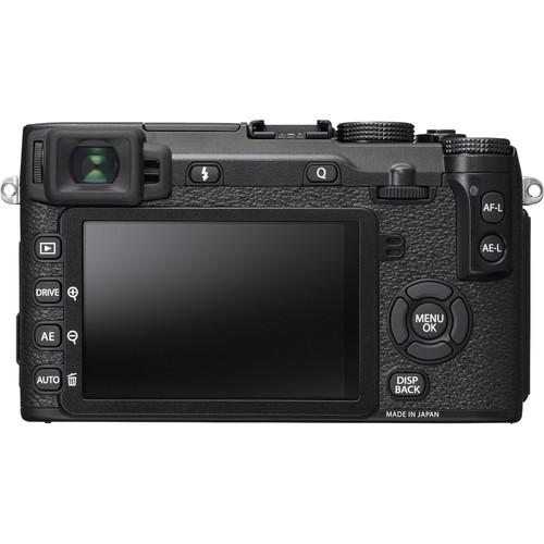 Fujifilm - X-Series X-E2S Mirrorless Camera with XF 18-55mm Lens - Black