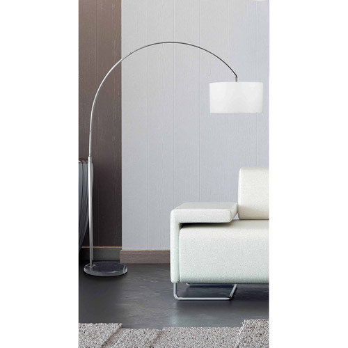 Kenroy Home 32119BS Bolen Arc Lamp [Brushed Steel]
