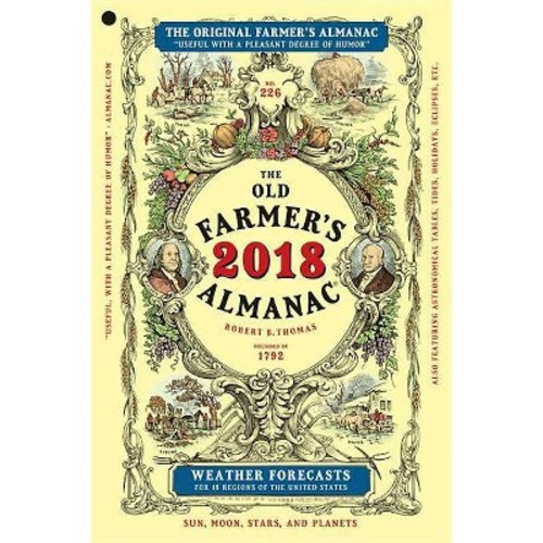 Farmer's Almanac 2018 (Paperback)