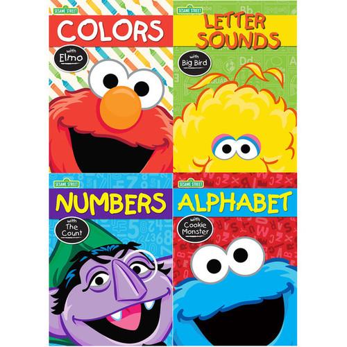 Kappa Publication 640000 Sesame Street Workbook Assorted Characters
