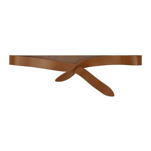ISABEL MARANT Brown Lecce Wrap Belt