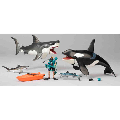 Animal Planet Shark and Whale Playset