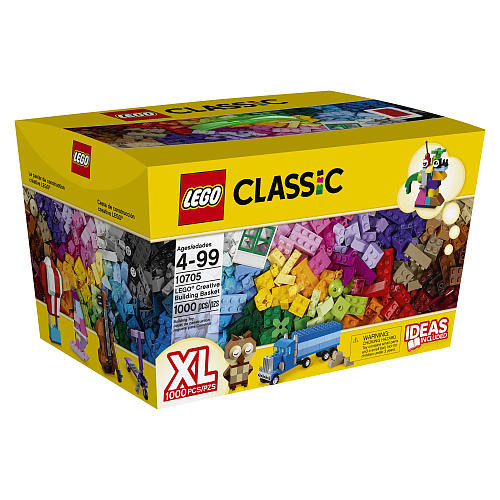 LEGO Classic Creative Building Basket (10705)