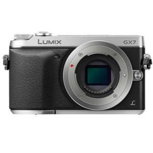 Panasonic Lumix DMC-GX7 Mirrorless Camera Body, Si DMC-GX7SBODY B