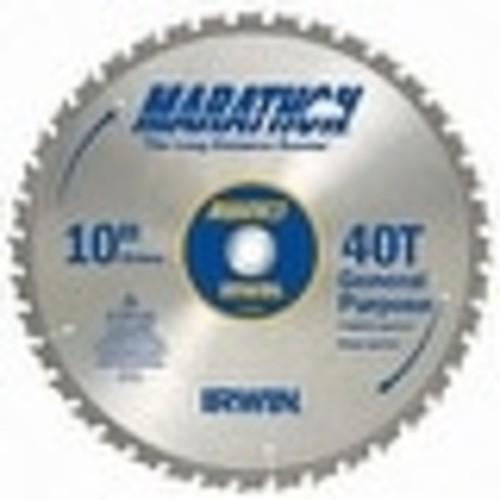 Irwin 14070 Marathon Miter & Table Circular Saw Blade, 10