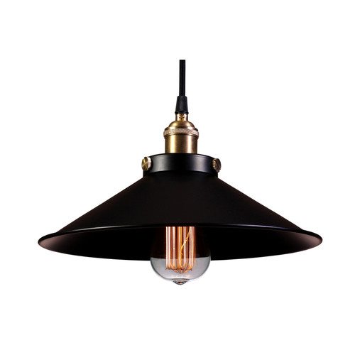 Warehouse of Tiffany Kim Black Pendant Light