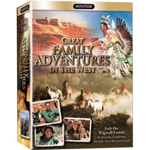 Great Family Adventures in the West [6 Discs] [DVD]