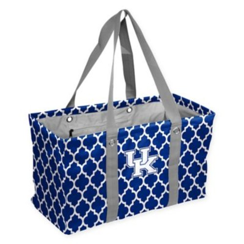 University of Kentucky Quatrefoil Picnic Caddy Tote in Royal