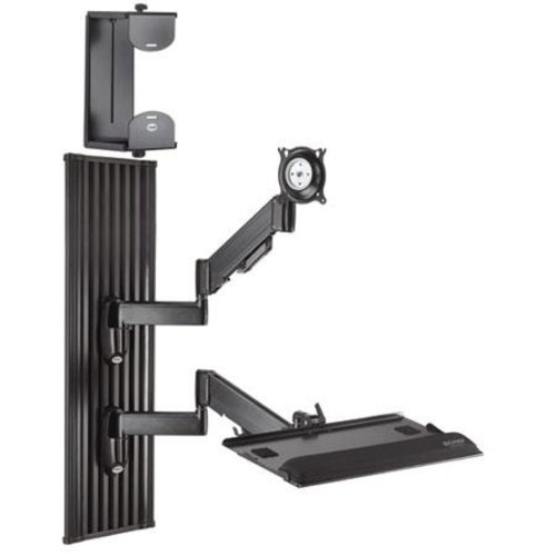 Chief KWT110 All-in-One Monitor Workstation Wall Mount KWT110B