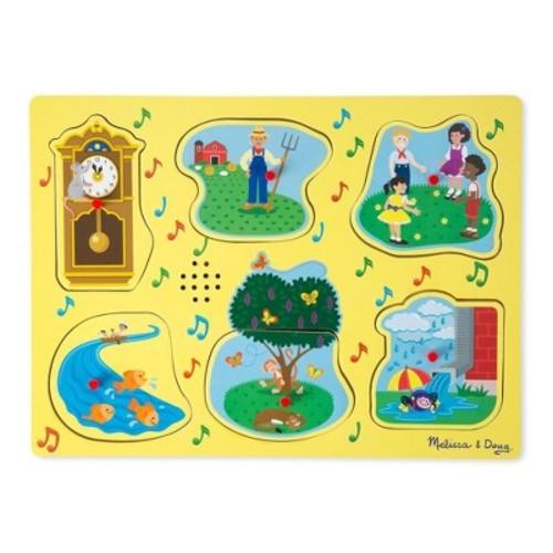 Melissa & Doug Nursery Rhymes 1 Sound Puzzle