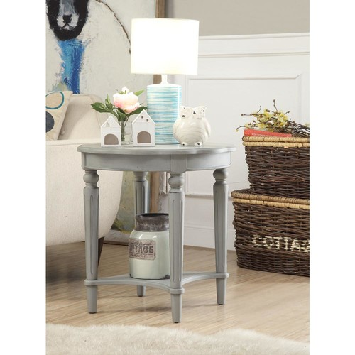 ACME Furniture Fordon End Table in Antique Slate