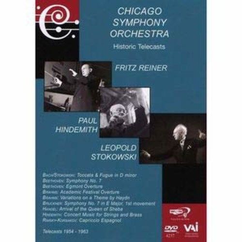 Chicago Symphony Orchestra Historic Telecasts: Reiner/Hindemith/Stokowski