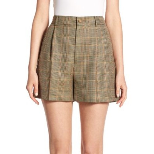 RALPH LAUREN COLLECTION Tracy Wool Shorts