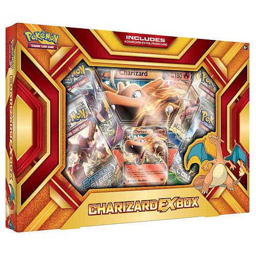 Pokemon Charizard EX Fire Blast Box