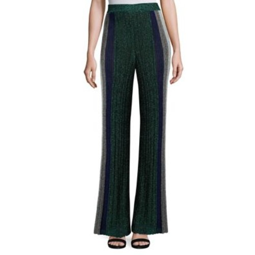 MISSONI Striped Ribbed Pants