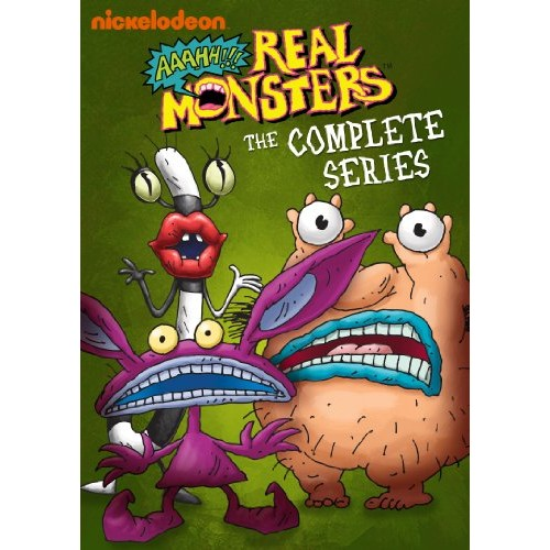 Aaahh!!! Real Monsters: The Complete Series [8 Discs] [DVD]