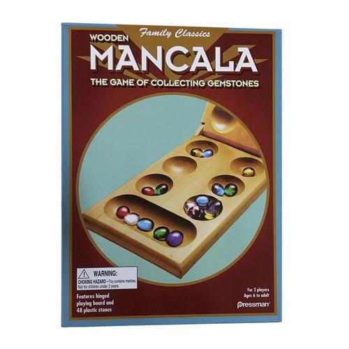 Pressman Wood Folding Mancala Game