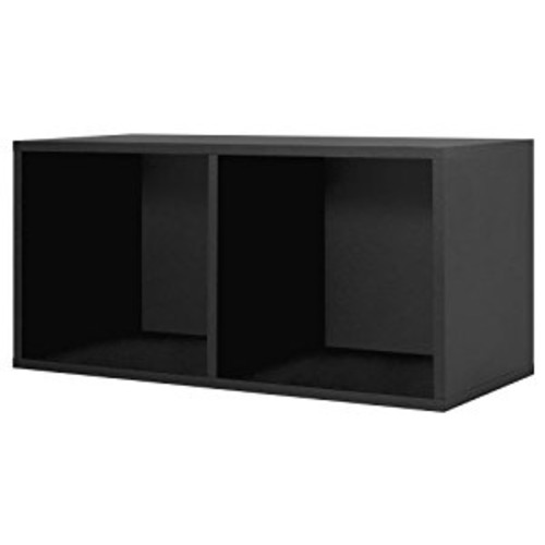 Foremost 327806 Modular Large Divided Storage System, Black [Black]