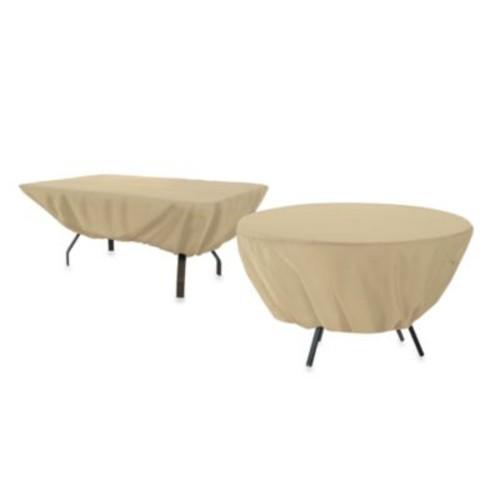 Classic Accessories Terrazzo Rectangular/Oval Patio Table Cover