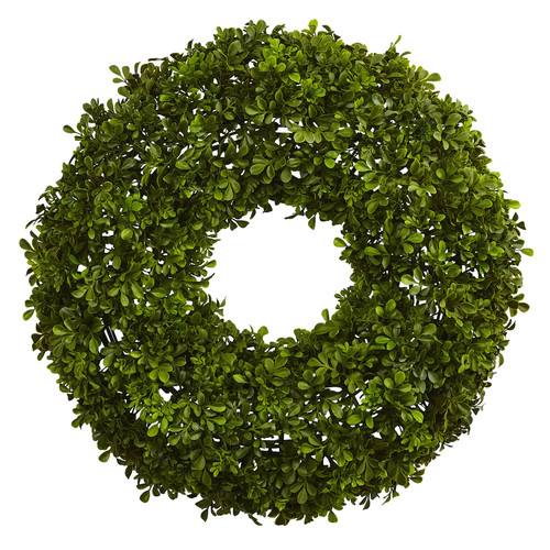 nearly natural Artificial Boxwood Wreath