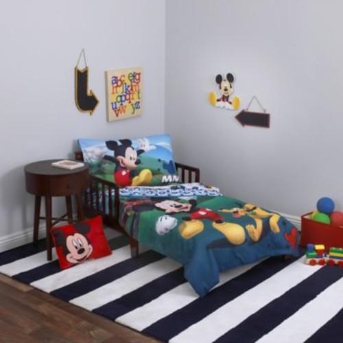 Disney Mickey Mouse Playhouse 4-Piece Toddler Bedding Set