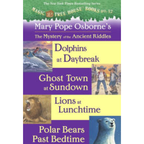 The Mystery of the Ancient Riddles (Magic Tree House Series)
