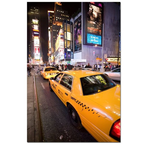Trademark Global Yale Gurney 'Big Lights' Canvas Art [Overall Dimensions : 24x32]