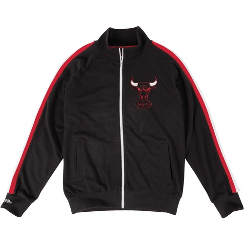 Mitchell & Ness Men's Chicago Bulls French Terry Jacket