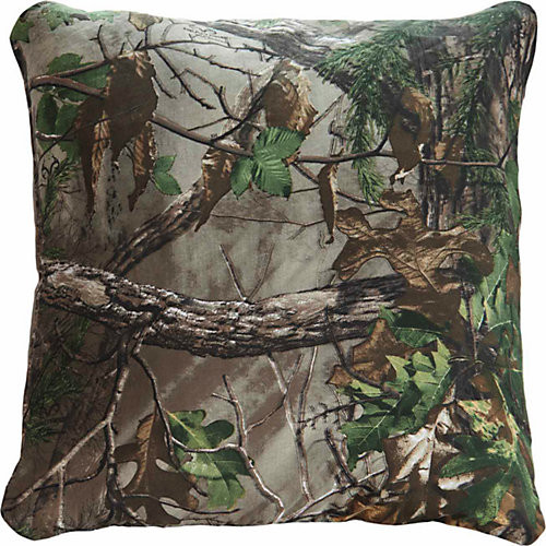 Realtree Xtra Green Square Pillow, 18 in. x 18 in.