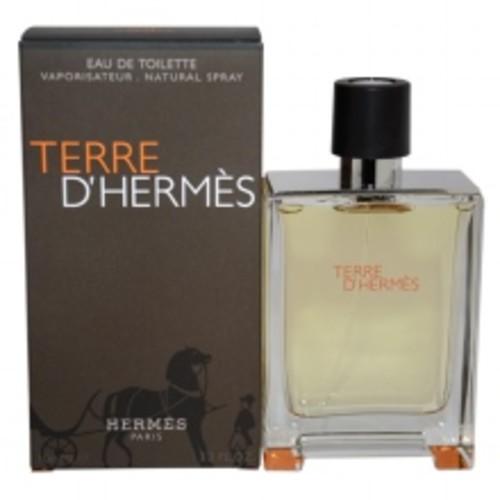 Terre D'Hermes by Hermes, 3.3 oz Eau De Toilette Spray for men.