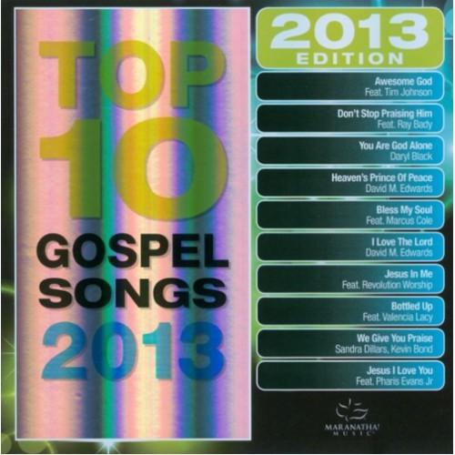 Maranatha!: Top 10 Gospel Songs 2013 - CD