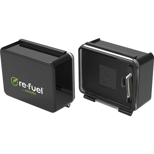 Digipower - Re-Fuel External Rechargeable Lithium-Ion Replacement Battery for GoPro HERO3/4