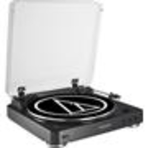 Audio-Technica AT-LP60-BT (Black) Fully automatic wireless turntable with built-in phono preamp and Bluetooth