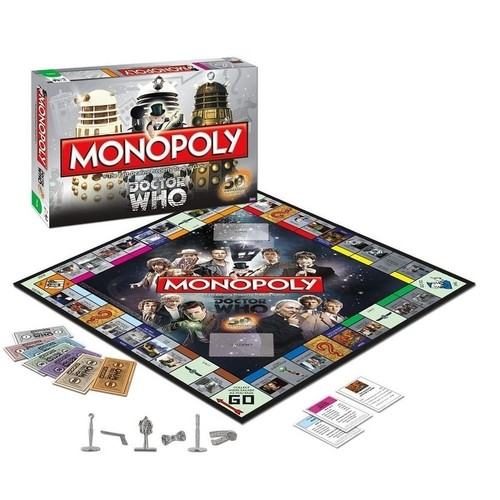 Doctor Who Monopoly Boardgame Collectors Edition - multi