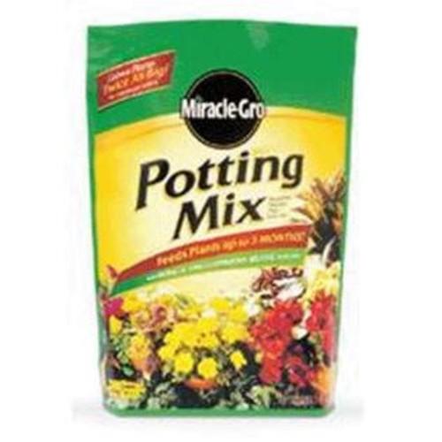 Miracle Gro 75686300 Premium Potting Soil Mix, 16 Quarts