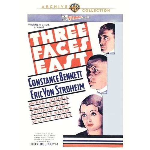 Three Faces East [DVD] [1930]