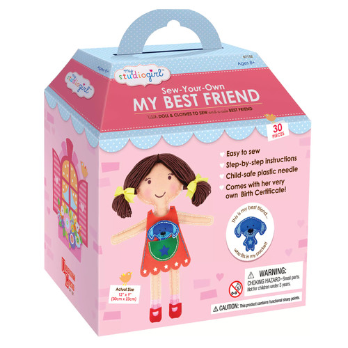 My Studio Girl Sew-Your-Own Brunette My Best Friend