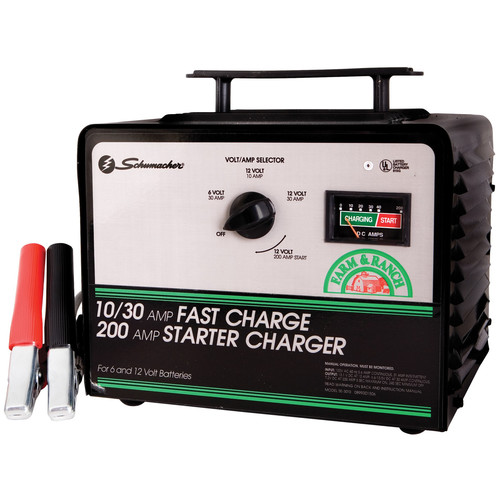 10/30/200 Amp 6/12 Volt Battery Charger
