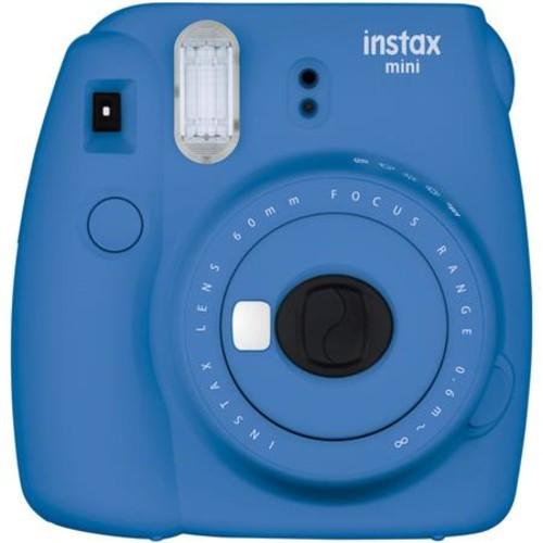 FujiFilm Instax Mini 9 Camera, Cobalt Blue With 3x Instax Films and Accessories